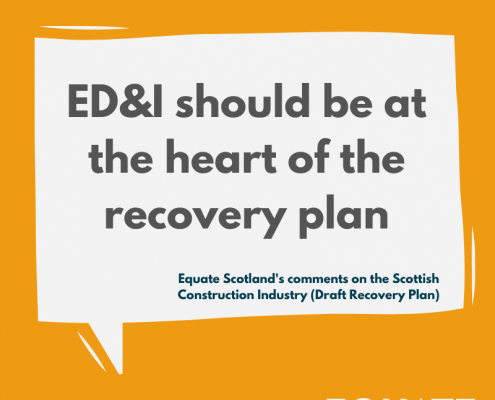ED&I should be at the heart of the recovery plan